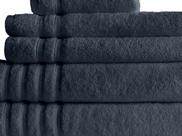 Super soft fluffy 'Zero Twist' Hand Towel Charcoal
