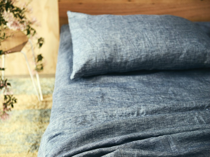 King Ultra Luxurious 100 Pure French Linen Sheet Set In