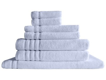 Super Soft Fluffy 'Zero Twist' Bath Mat White