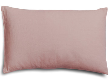 100% pure linen Wildflower Pink pillow case (1)