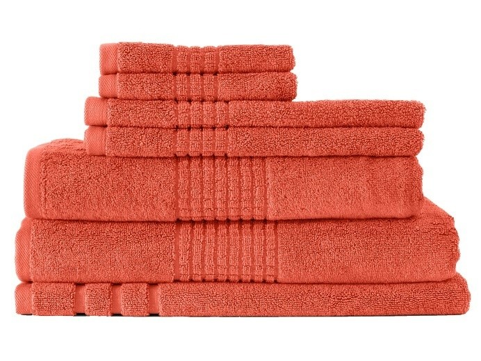 Thick Egyptian Cotton Bath Towel Blaze
